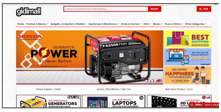 Marketing: 20 Online Shops You Can Make A Choice From ...