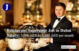 Front Desk Supervisor Job Vacancy For Kerala Based Restaurant in Dubai