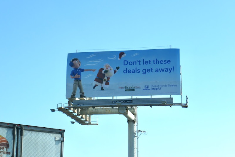 Dont let deals get away Honda Days billboard