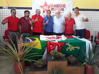 Executiva Estadual do PT oficializa Adriano Leite como pré-candidato a prefeito em Barra de Santa Rosa