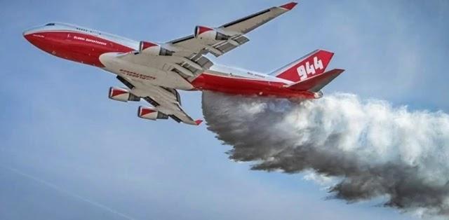O presidente da Bolívia, Evo Morales, anunciou que o 747 SuperTanker, o maior avião tanque do mundo, já está a caminho do país para atuar no combate a incêndios florestais
