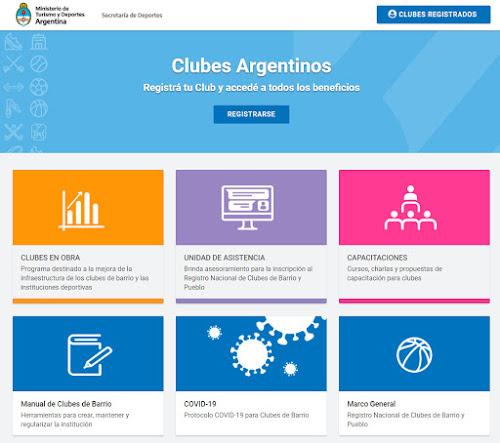 Ayuda económica para Clubes Argentinos