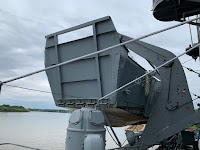 LST 325 Higgins boat bow