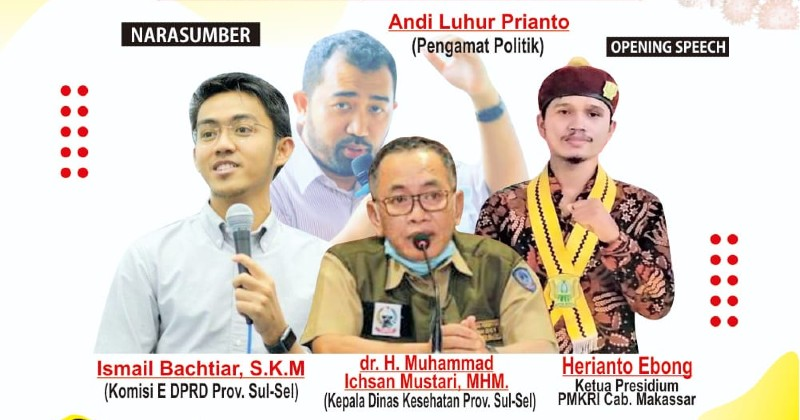 PMKRI Makassar Gelar Webinar Strategi Penekanan Kasus Covid-19 di Sulawesi Selatan