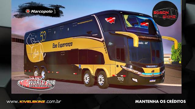 PARADISO G7 1800 DD 8X2 - VIAÇÃO BOA ESPERANÇA LEITO 50 ANOS