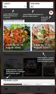 Aplikasi Jalan-Jalan Cari Makan (JJCM) dan Kempen #seringgitseribukebaikan