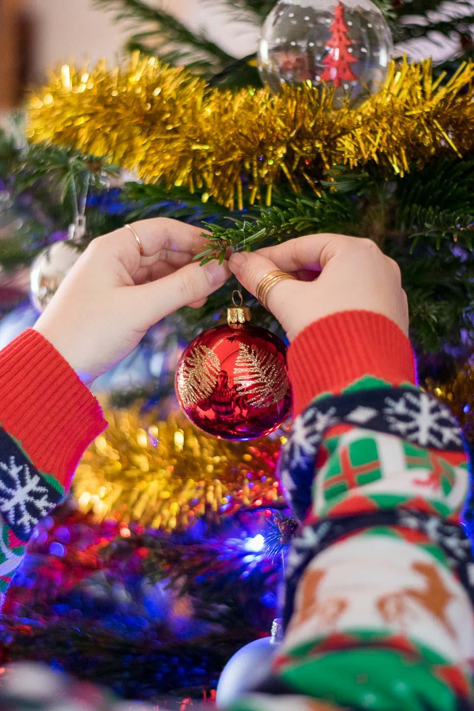 blog lifestyle décoration boules guirlande christmas noel