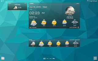 Download Weather & Clock Widget Android