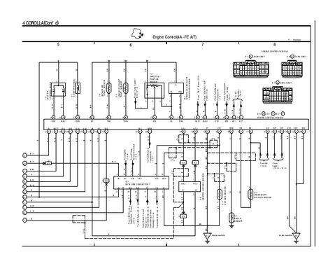 1996 Toyota Corolla Wiring Diagram  Wiring Diagram