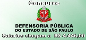 concurso Defensoria Pública de São Paulo