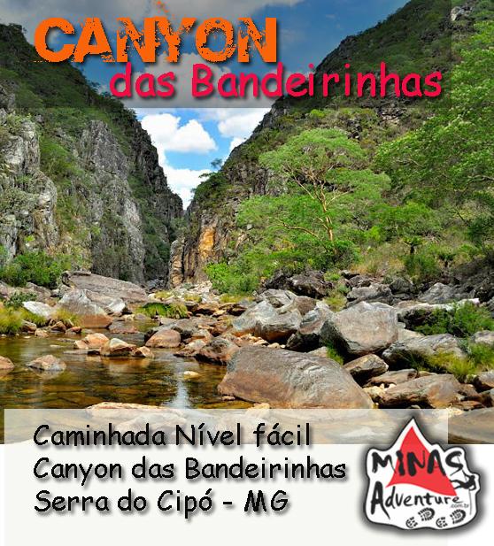 Caminhada Canyon das Bandeirinhas - Dia 25/03/2016