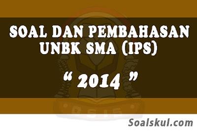 Download Soal dan Pembahasan UNBK SMA 2014 (IPS)