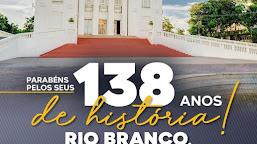Senadora Mailza Gomes parabeniza Rio Branco pelo aniversário de 138 anos