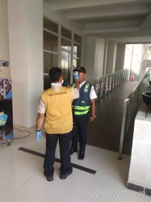 Dirut IPC, Arif Suhartono : Masuk  Kantor IPC, Cabang dan Anak Perusahaan Diperiksa Thermal Scaner