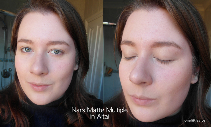 One Little Vice beauty Blog: Nars Matte Multiple Altai Swatch Review