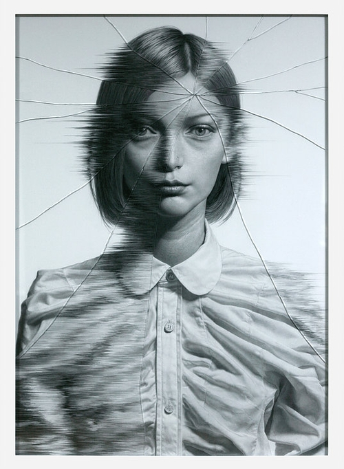 01-The-Cracked-Portrait-Pencil-Drawing-and-Glass-www-designstack-co