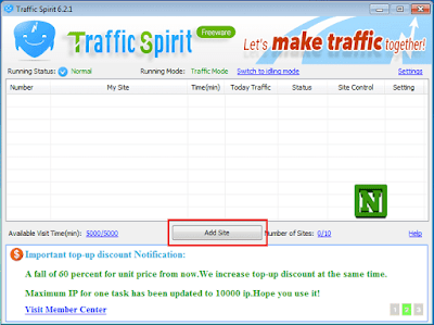 tool hack view traffic blogspot website