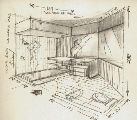 Revista digital apuntes de arquitectura apuntes trazos y for Comedor para dibujar