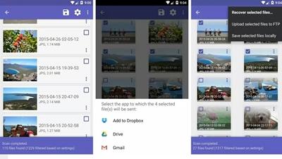 Recuperar las fotos borradas de tu Android con DiskDigger
