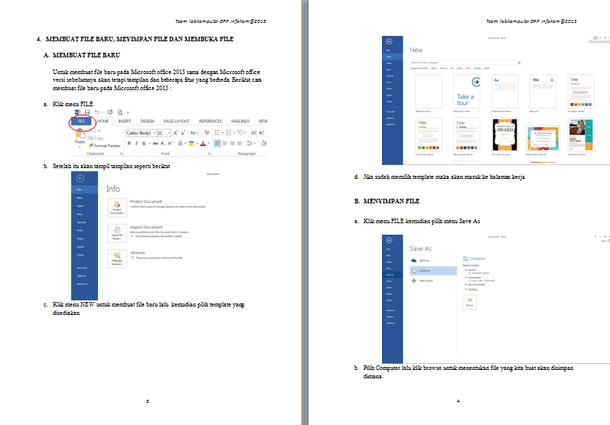 Contoh Modul Microsoft Word 2013