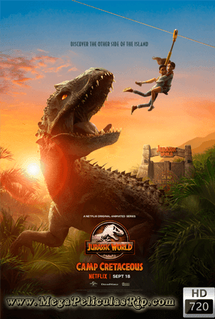 Jurassic World: Camp Cretaceous Temporada 1 [720p] [Latino-Ingles] [MEGA]