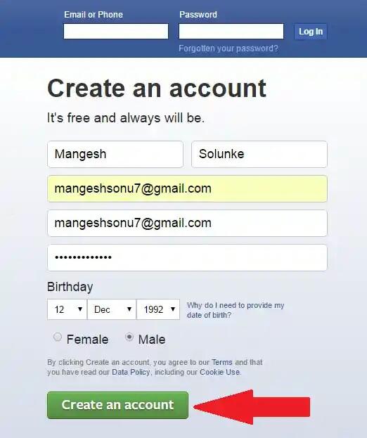 How to open a Facebook account? || bangla blog pro