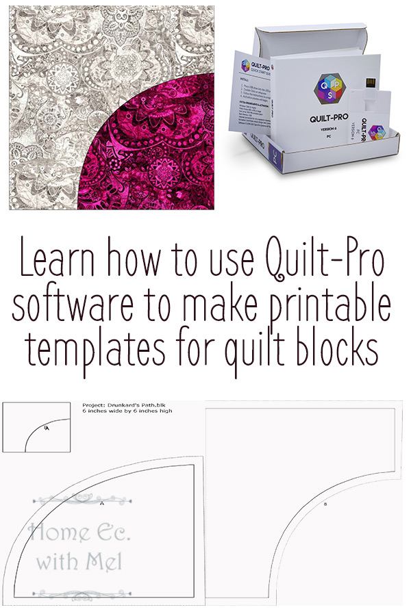 No more buying templates for quilting. Follow the video to see just how easy it is to print quilt templates