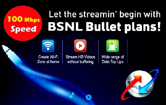 BSNL waives off installation charges for new Fiber Broadband (FTTH) connections from 25th April 2017 on wards in all the circles