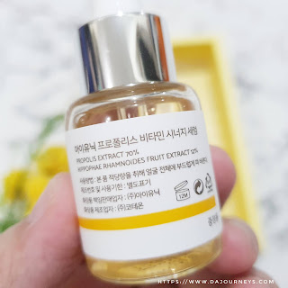 Review iUNIK Propolis Vitamin Synergy Serum