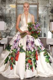 wedding dresses floral - romona keveza collection - weddings ideas blog by K'Mich