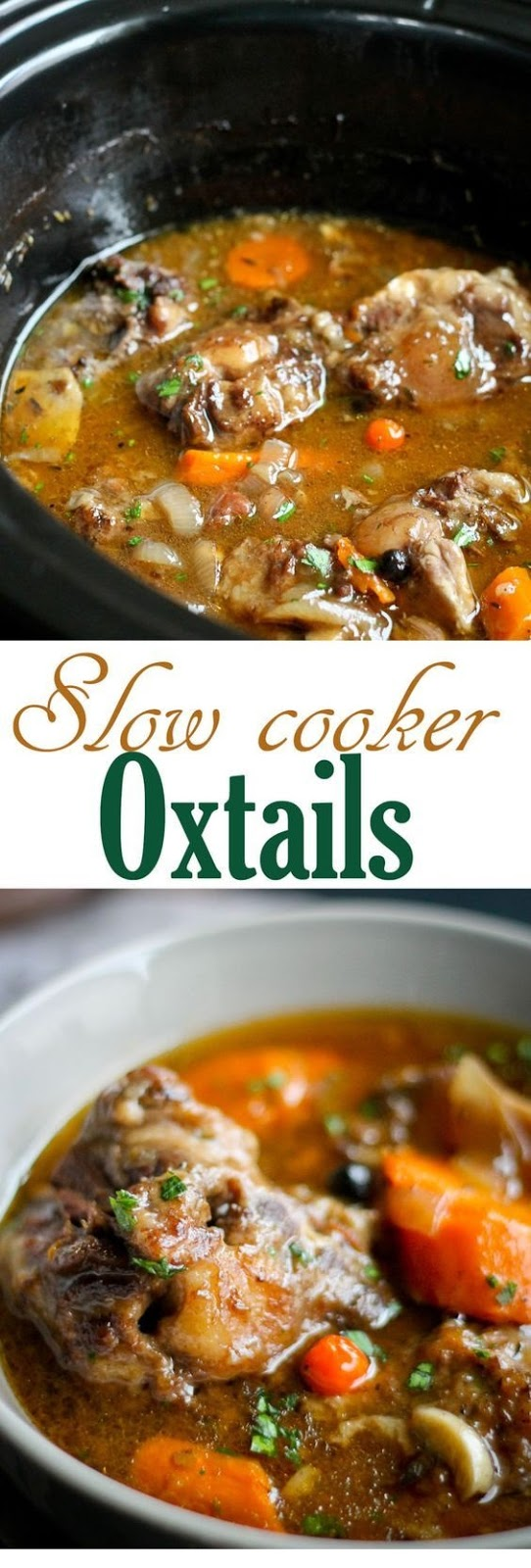 Slow Cooker Oxtails