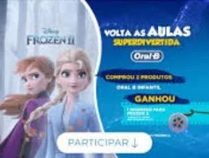 Promoção P&G Frozen 2 Volta às Aulas 2020