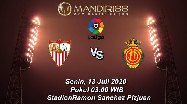 Prediksi Sevilla Vs Real Mallorca, Senin 13 Juli 2020 Pukul 03.00 WIB