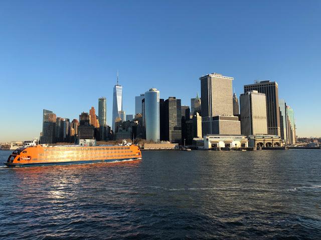 Ferry de Staten Island. Nueva York con adolescentes | turistacompulsiva.com