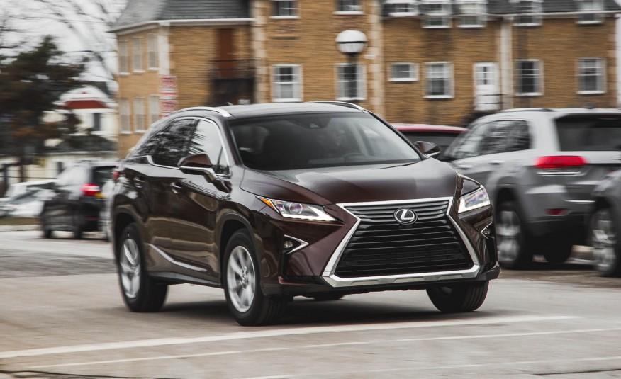 Đánh giá xe Lexus RX350 2016