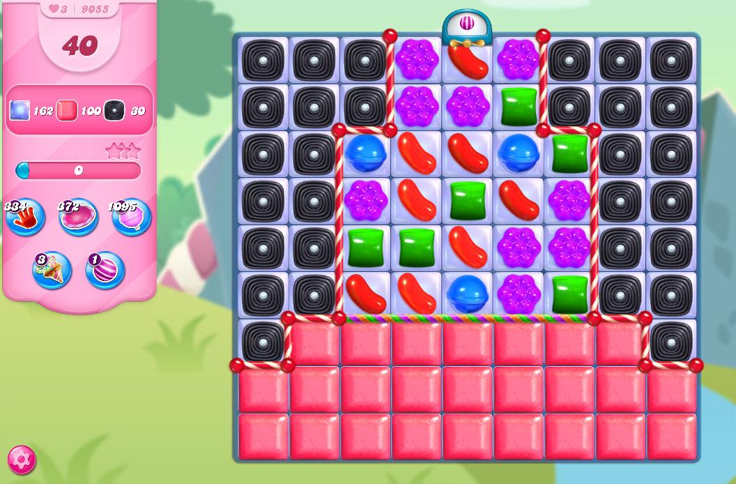Candy Crush Saga level 9055