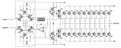P300V Stereo Power Amplifier Assembly Circuit Diagram