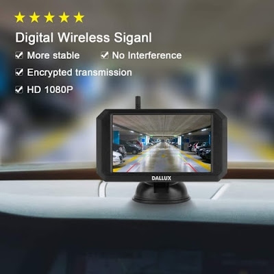DALLUX WCS5000 Cars Wireless Backup Camera