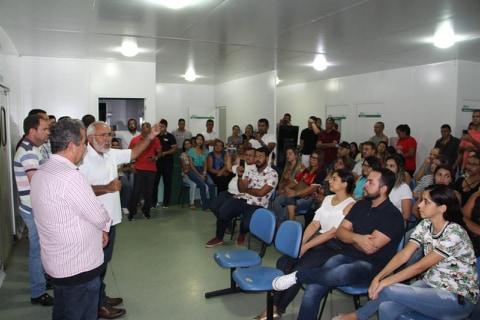 Prefeito Padre Eraldo garante funcionamento da UPA de Delmiro Gouveia