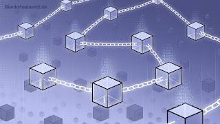 Blockchain saling terhubung