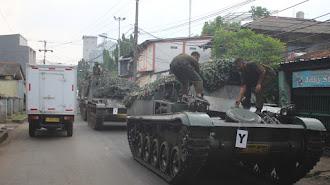 Kapendam Jaya: Video Tank untuk Penyekatan Mudik Hoaks