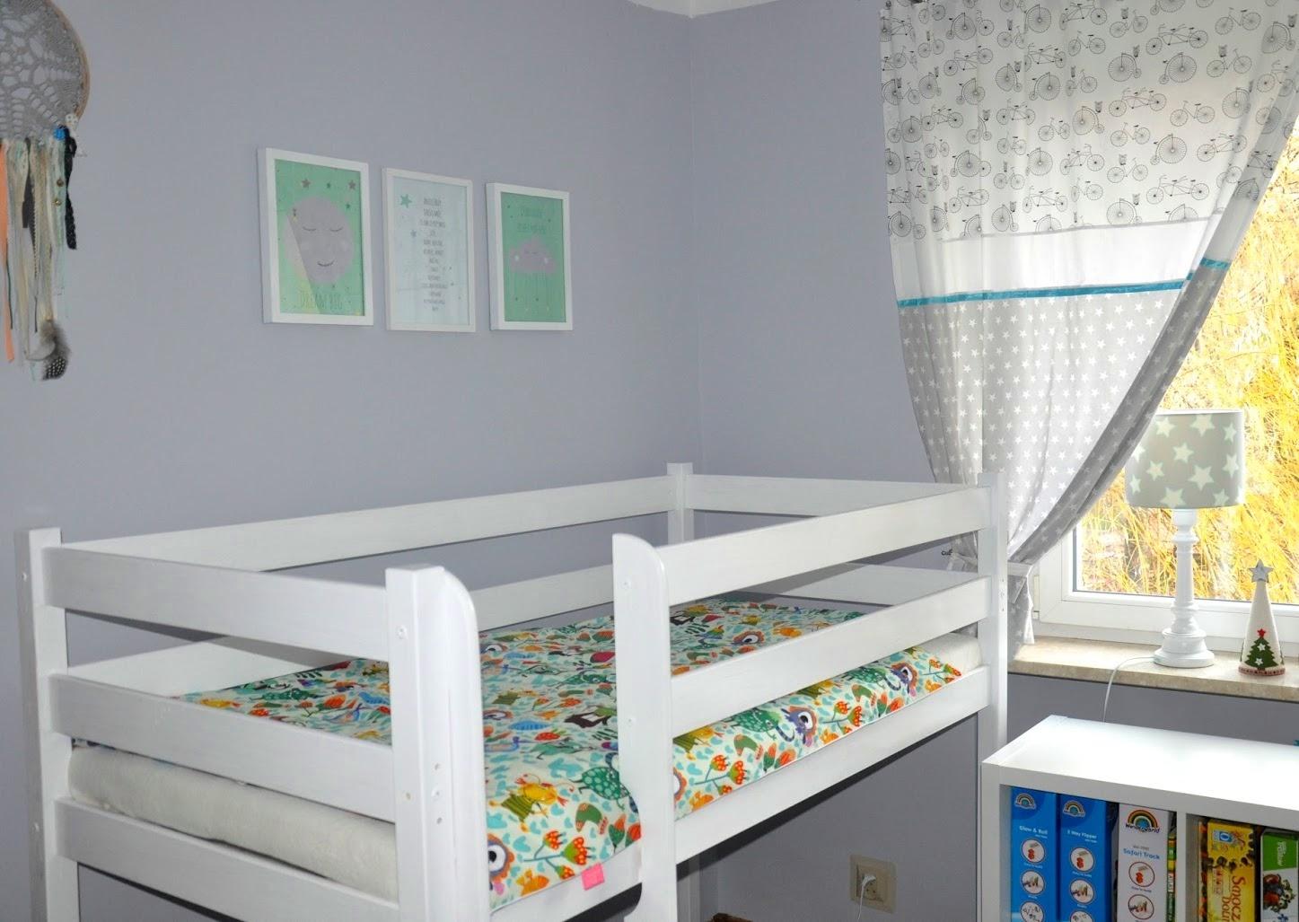 pokój przedszkolaka, łóżko piętrowe, antresola