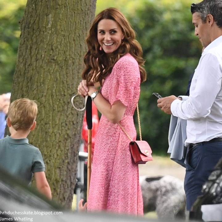 17c784c8728ac With George and Charlotte on summer holidays, the family have been spending  time at their country home Anmer Hall. Yesterday, the Duchess was spotted  with ...