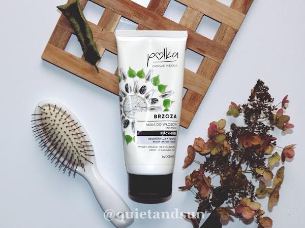 Polka, Brzoza, Maska do włosów regeneracja + połysk