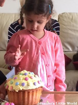 Toddler's third birthday