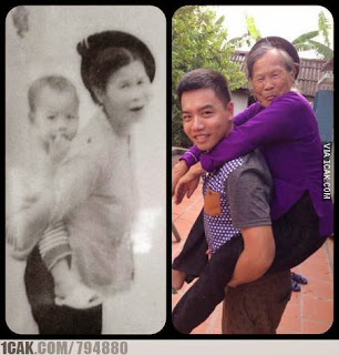 Gambar Renungan soal Orang Tua