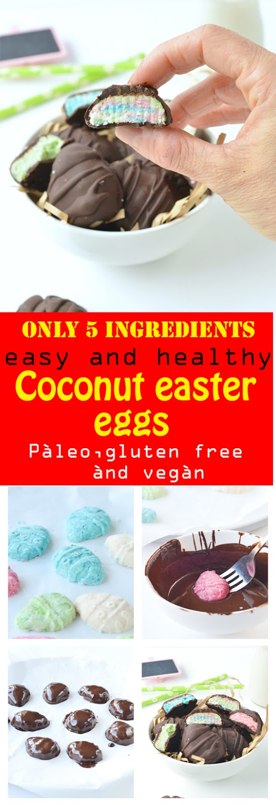 coconut easter eggs
