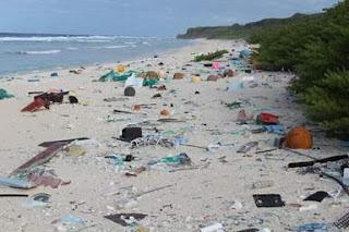 la plage la plus polluée au monde.