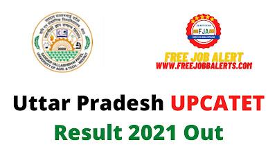 Sarkari Result: Uttar Pradesh UPCATET Result 2021 Out