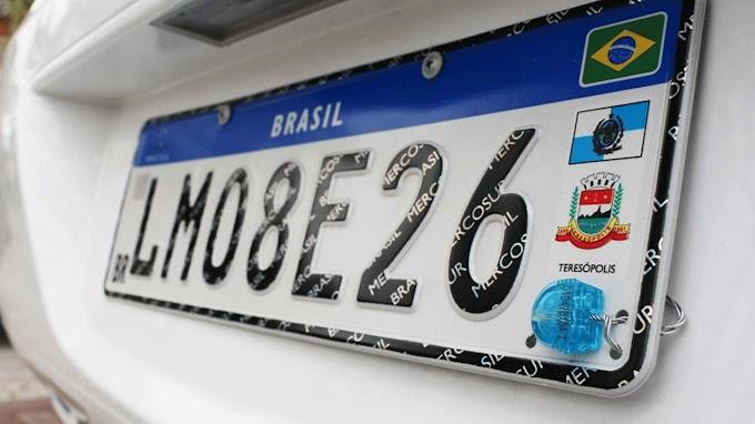 Placa do Mercosul é adiada para janeiro de 2020
